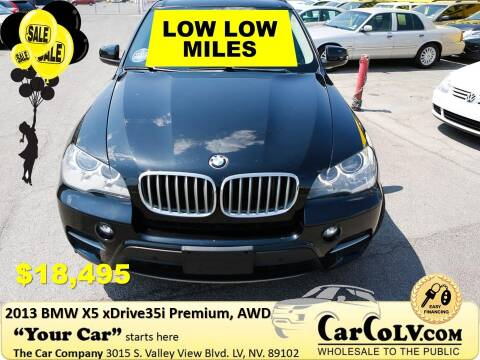 2013 BMW X5 for sale at The Car Company in Las Vegas NV