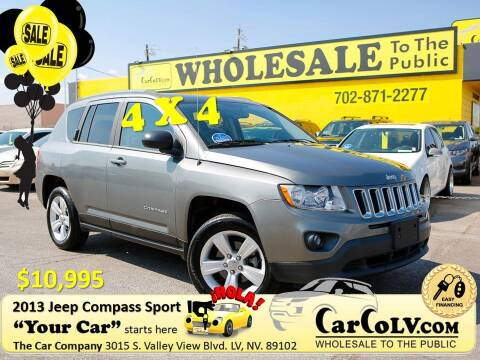2013 Jeep Compass for sale at The Car Company in Las Vegas NV