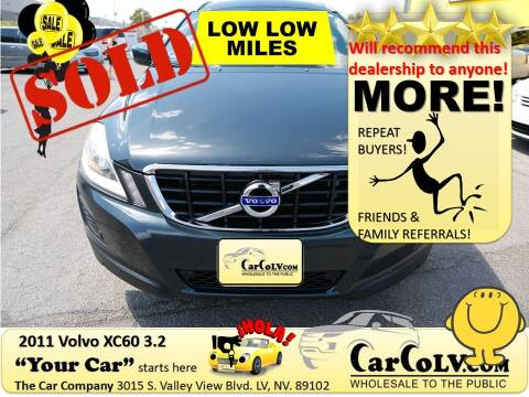 2011 Volvo XC60 for sale at The Car Company in Las Vegas NV