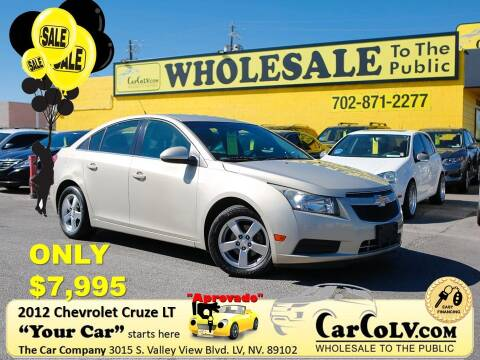 2012 Chevrolet Cruze for sale at The Car Company in Las Vegas NV