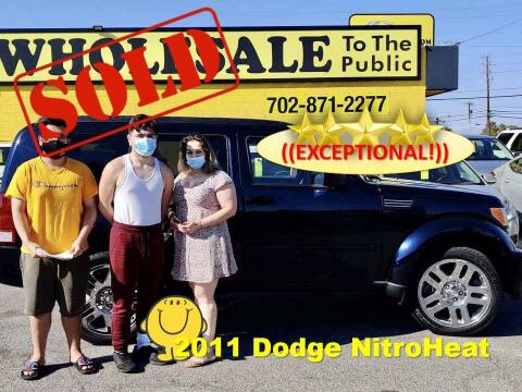 2011 Dodge Nitro for sale at The Car Company in Las Vegas NV
