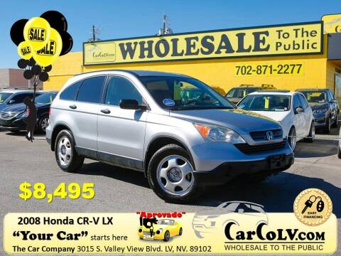 2008 Honda CR-V for sale at The Car Company in Las Vegas NV