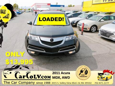 2011 Acura MDX for sale at The Car Company in Las Vegas NV