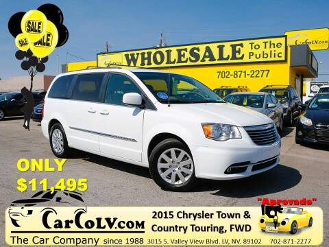 2015 Chrysler Town and Country for sale at The Car Company in Las Vegas NV