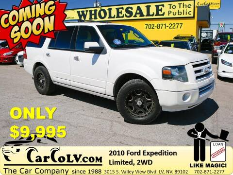 2010 Ford Expedition for sale at The Car Company in Las Vegas NV