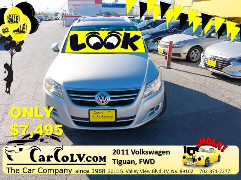 2011 Volkswagen Tiguan for sale at The Car Company in Las Vegas NV