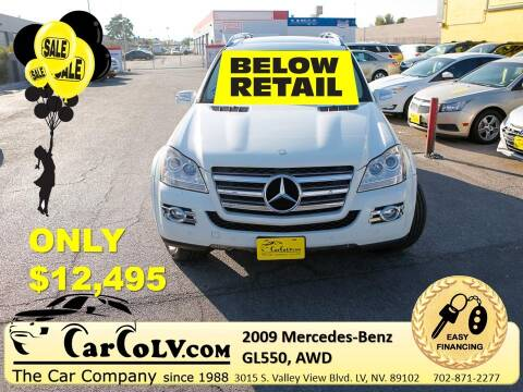 2009 Mercedes-Benz GL-Class for sale at The Car Company in Las Vegas NV