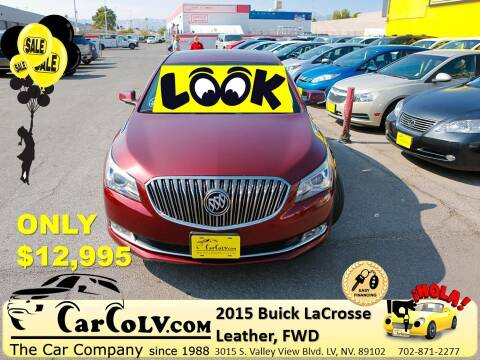 2015 Buick LaCrosse for sale at The Car Company in Las Vegas NV