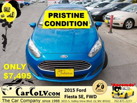 2015 Ford Fiesta for sale at The Car Company in Las Vegas NV