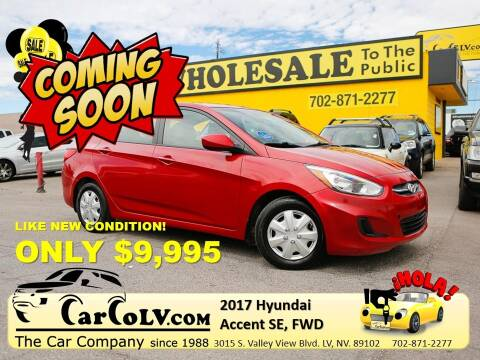 2017 Hyundai Accent for sale at The Car Company in Las Vegas NV