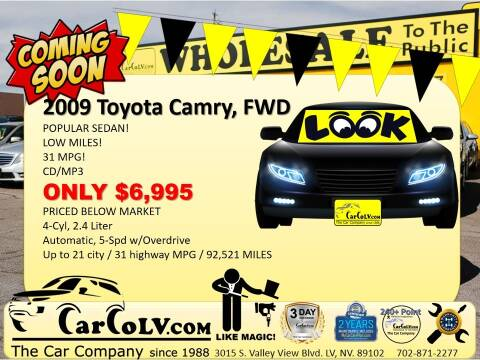 2009 Toyota Camry for sale at The Car Company in Las Vegas NV