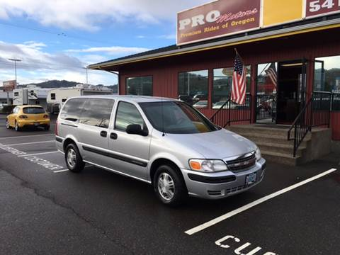 2003 Chevrolet Venture for sale in Roseburg, OR