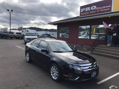 2012 Ford Fusion for sale at Pro Motors in Roseburg OR