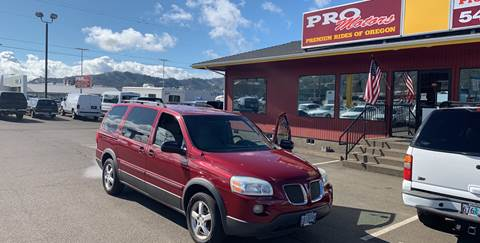 2005 Pontiac Montana SV6 for sale in Roseburg, OR