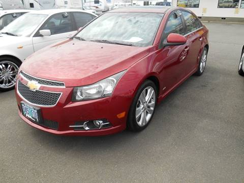 2011 Chevrolet Cruze for sale at Pro Motors in Roseburg OR