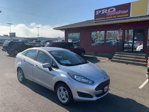 2017 Ford Fiesta for sale at Pro Motors in Roseburg OR