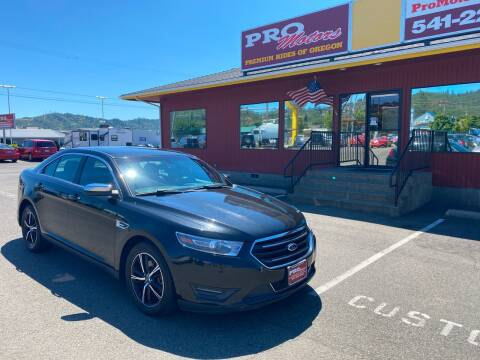2015 Ford Taurus for sale at Pro Motors in Roseburg OR