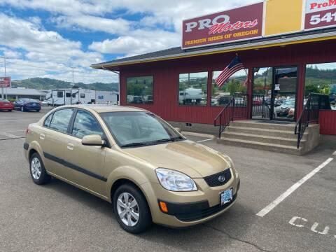 2008 Kia Rio for sale at Pro Motors in Roseburg OR