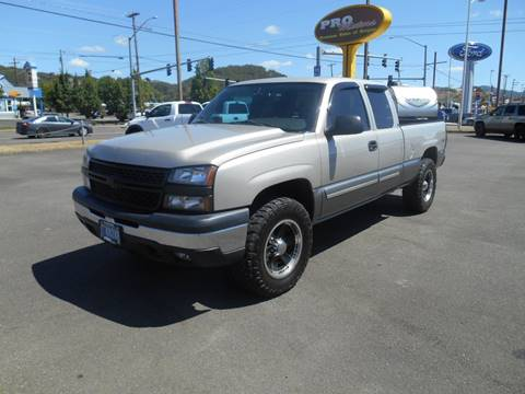 2007 Chevrolet Silverado 1500 Classic for sale at Pro Motors in Roseburg OR
