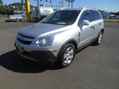 2013 Chevrolet Captiva Sport for sale at Pro Motors in Roseburg OR
