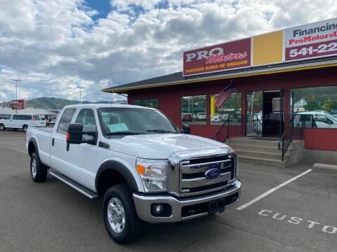 2015 Ford F-350 Super Duty for sale at Pro Motors in Roseburg OR