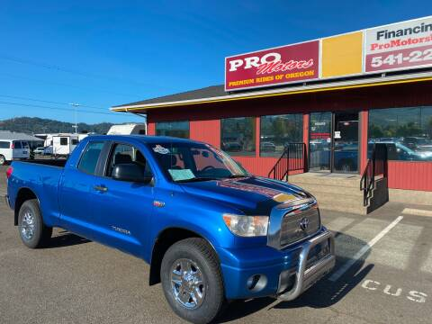 2008 Toyota Tundra for sale at Pro Motors in Roseburg OR