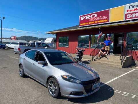 2015 Dodge Dart for sale at Pro Motors in Roseburg OR