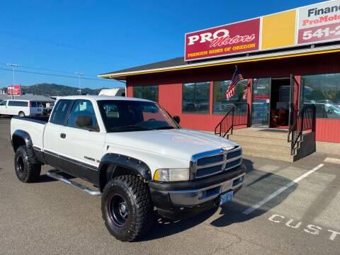 1999 Dodge Ram Pickup 1500 for sale at Pro Motors in Roseburg OR
