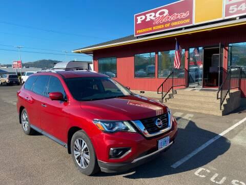 2017 Nissan Pathfinder for sale at Pro Motors in Roseburg OR