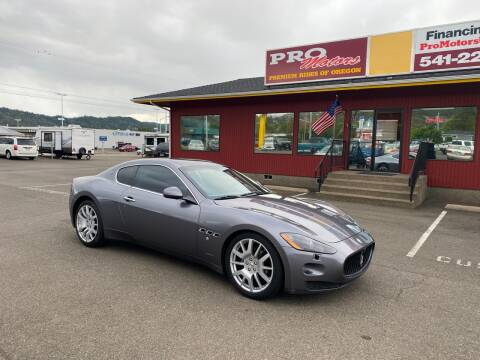 2008 Maserati GranTurismo for sale at Pro Motors in Roseburg OR