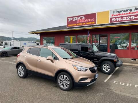 2018 Buick Encore for sale at Pro Motors in Roseburg OR