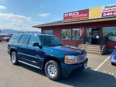 2006 GMC Yukon for sale at Pro Motors in Roseburg OR