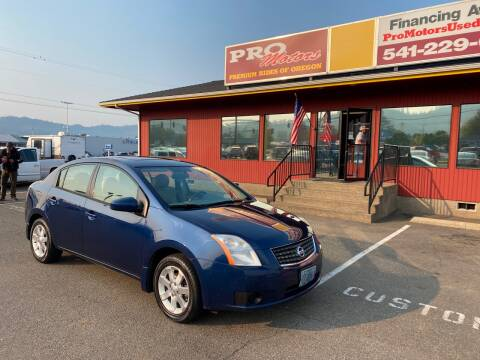 2007 Nissan Sentra for sale at Pro Motors in Roseburg OR