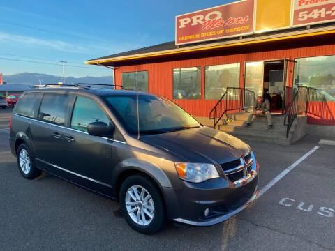 2018 Dodge Grand Caravan for sale at Pro Motors in Roseburg OR