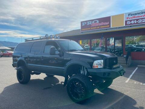 2002 Ford Excursion for sale at Pro Motors in Roseburg OR