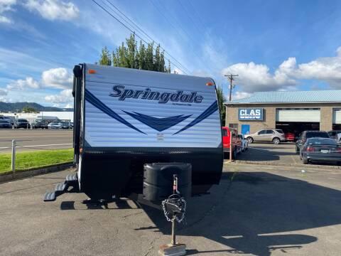 2019 Keystone Springdale for sale at Pro Motors in Roseburg OR