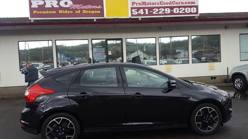 2013 Ford Focus SE 4dr Hatchback - Roseburg OR