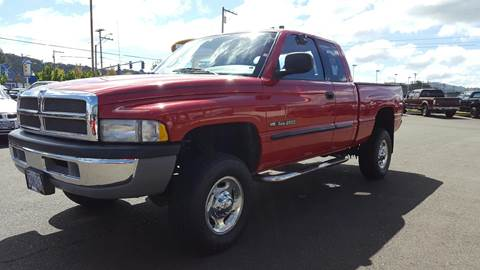 2002 Dodge Ram Pickup 2500 for sale at Pro Motors in Roseburg OR