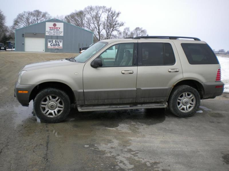2003 Mercury Mountaineer for sale at Woody's Auto Sales Inc in Randolph MN