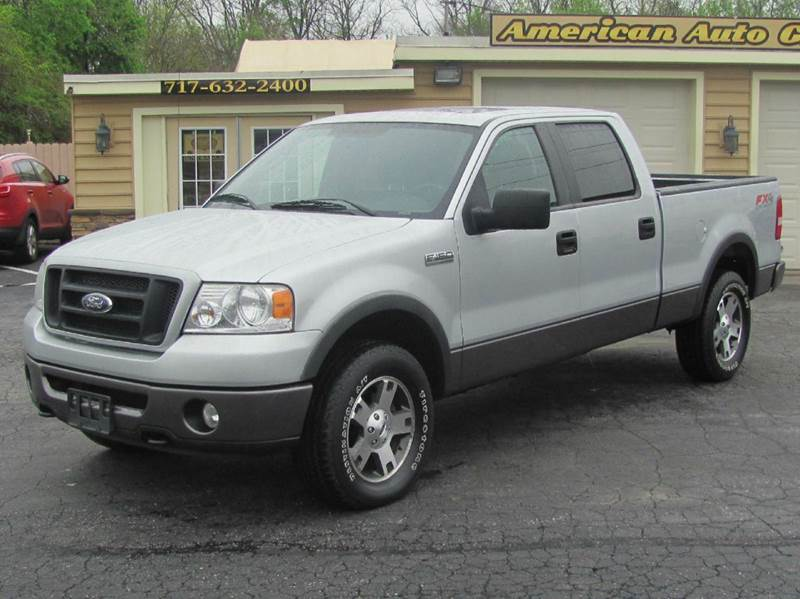 2007 ford f-150 fx4 4dr supercrew 4x4 styleside 6.5 ft. sb in