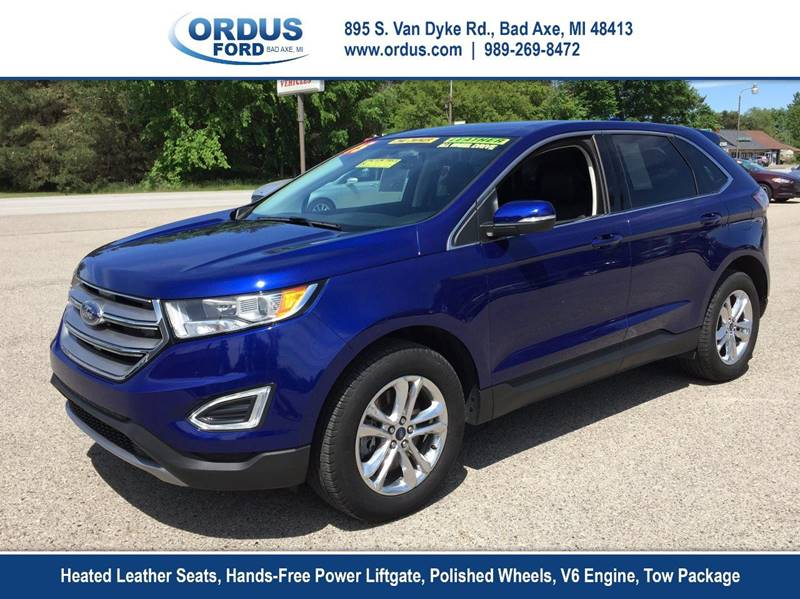 Ford Edge Awd Sel Dr Crossover Bad Axe Mi