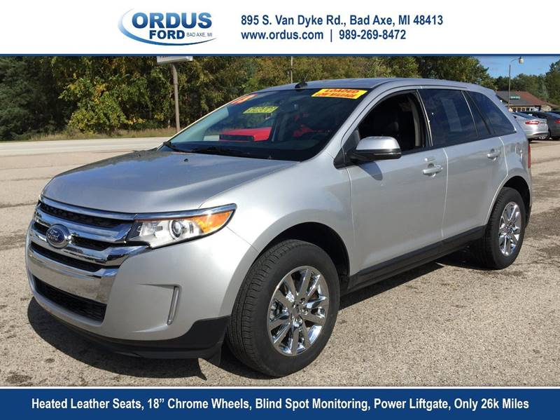 Ford Edge Sel Dr Crossover Bad Axe Mi