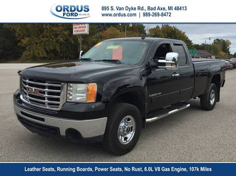 2009 GMC Sierra 2500HD for sale in Bad Axe, MI