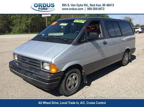 1991 Ford Aerostar for sale in Bad Axe, MI