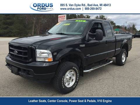 2002 Ford F-250 Super Duty for sale in Bad Axe, MI