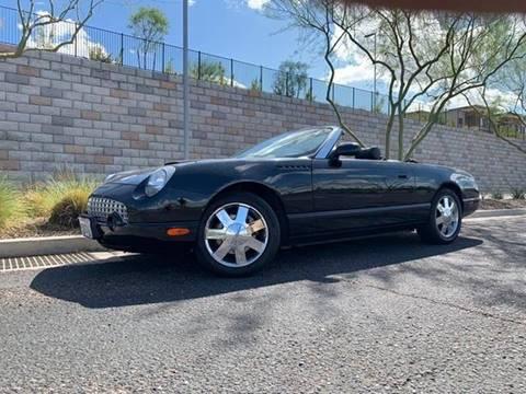 2002 Ford Thunderbird for sale in Tempe, AZ