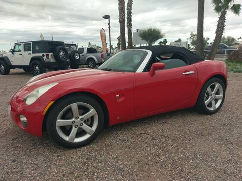 2007 Pontiac Solstice for sale in Apache Junction, AZ
