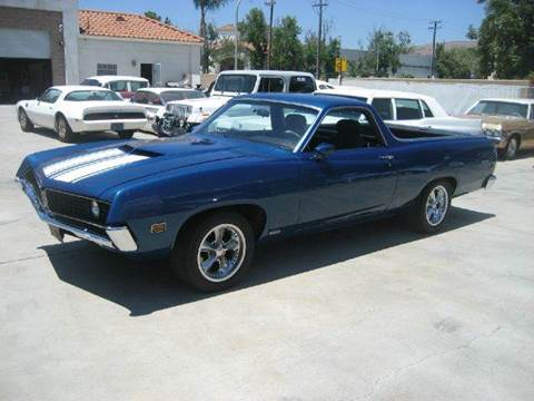 1970 Ford Ranchero for sale at HIGH-LINE MOTOR SPORTS in Brea CA