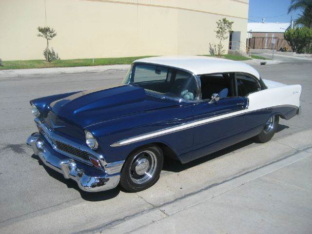 1956 Chevrolet Bel Air for sale at HIGH-LINE MOTOR SPORTS in Brea CA