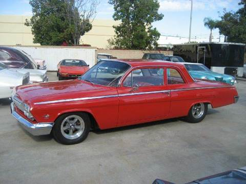 1962 Chevrolet Bel Air for sale at HIGH-LINE MOTOR SPORTS in Brea CA
